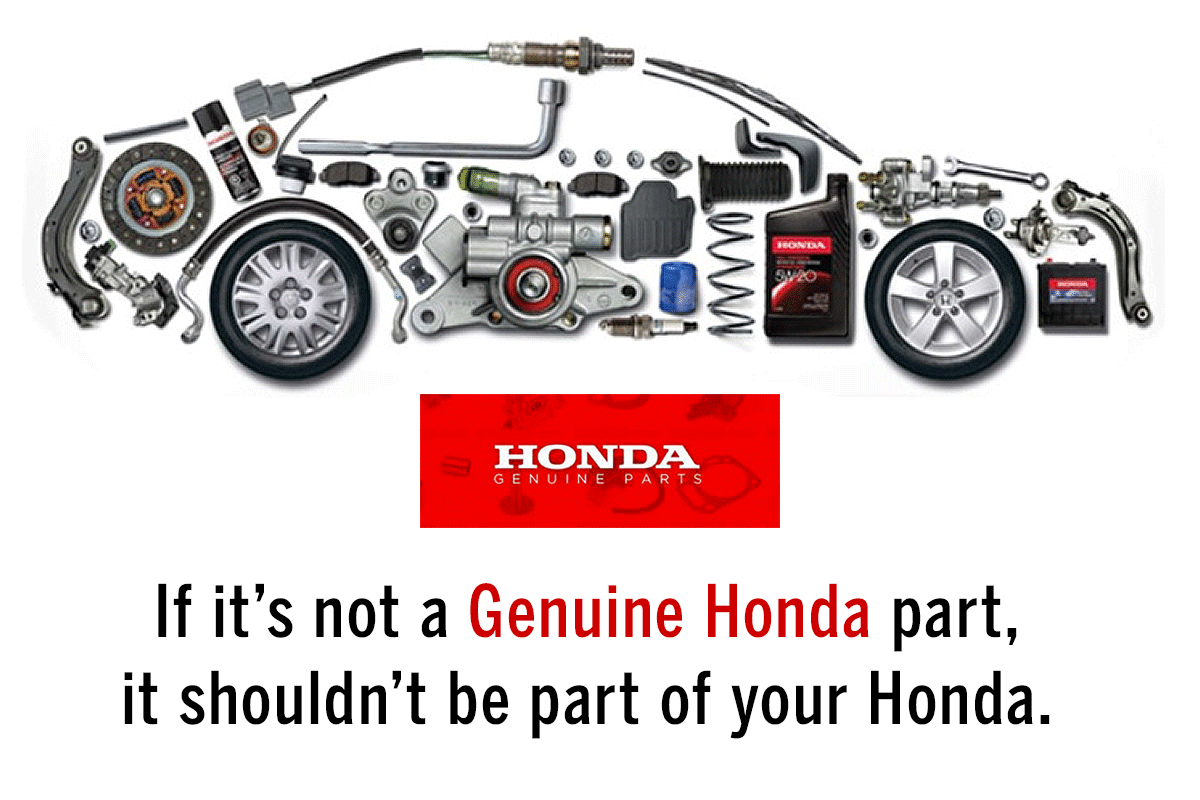 Genuine Honda Parts at Dow