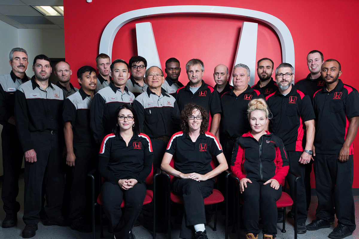 The Dow Parts and Service Team