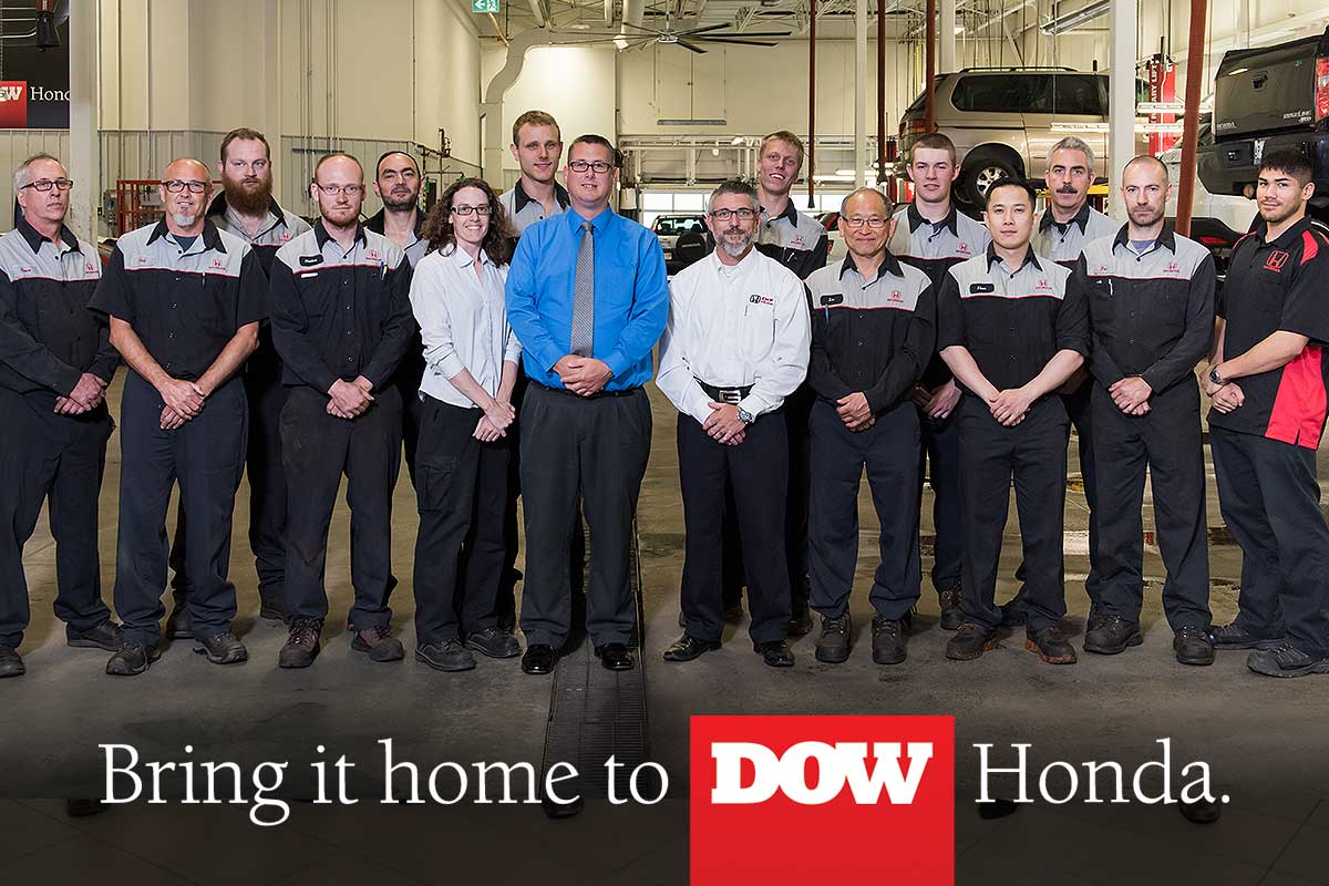 Bring it Home to Dow Honda