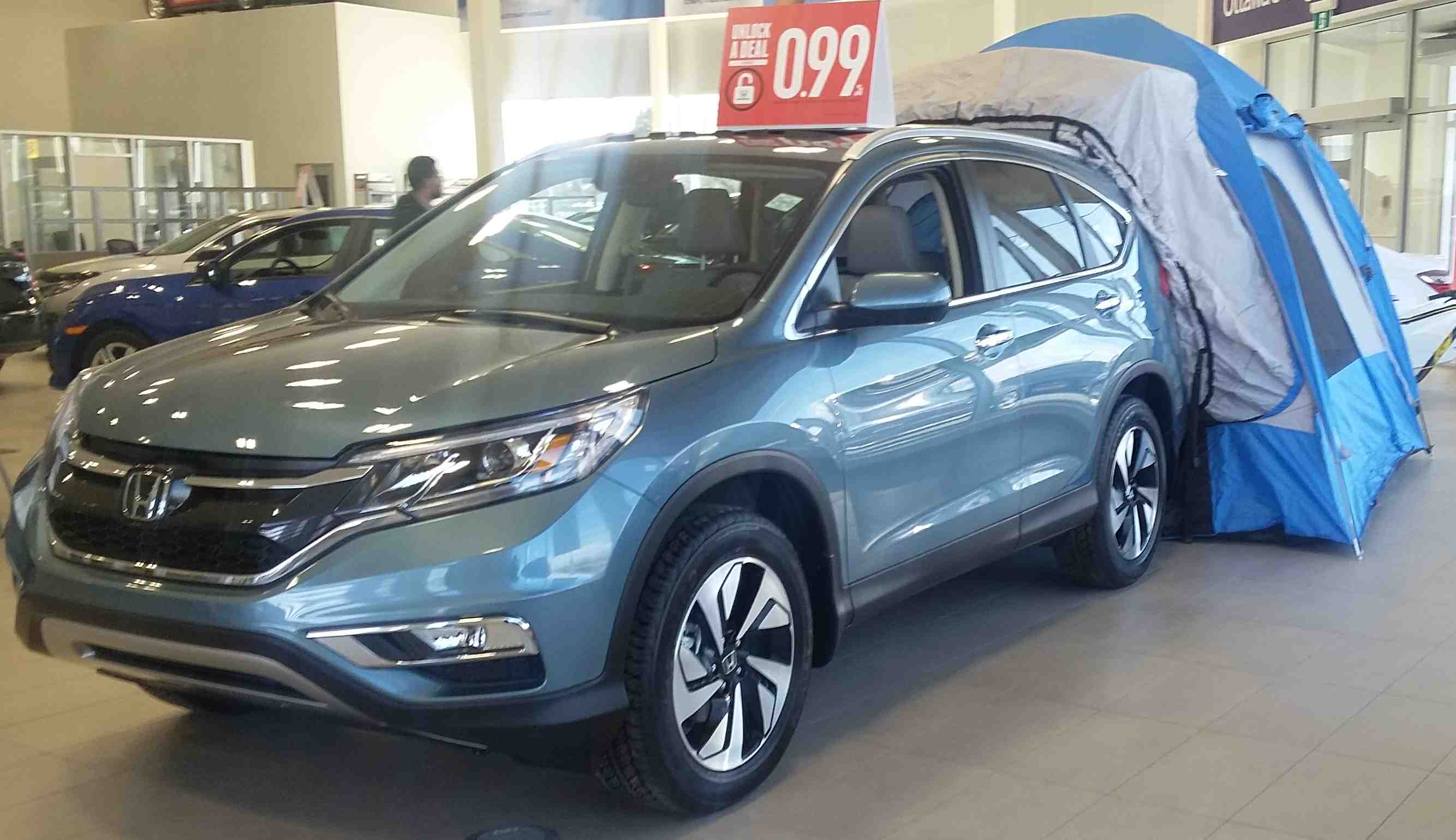 If youu0027re planning a summer road trip then you will want to visit the Dow Honda showroom to check out this tent accessory for the 2016 CR-V! & Showroom Showoff: Tent Edition - Dow Honda