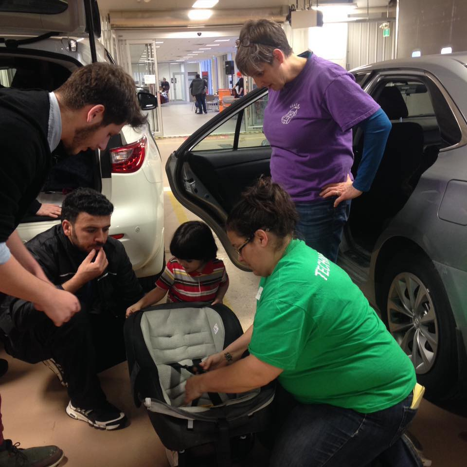 car seat clinic event