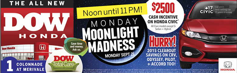 moonlight madness banner size