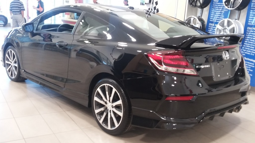 2015 Civic Si HFP package