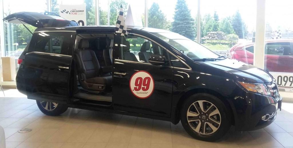 2015 Odyssey Touring trim