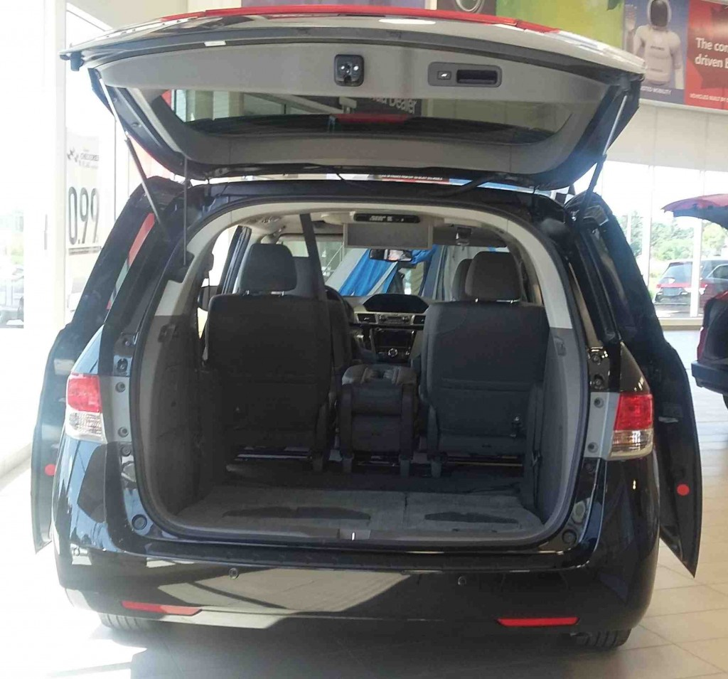 2015 Odyssey Touring Trunk