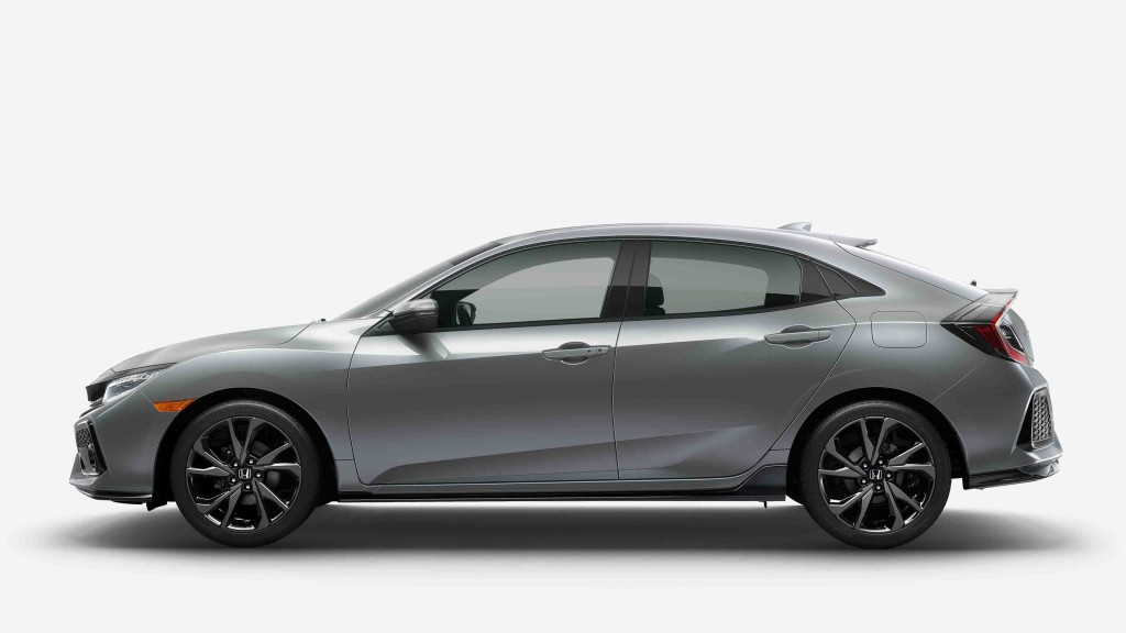 2017 Civic Hatch side