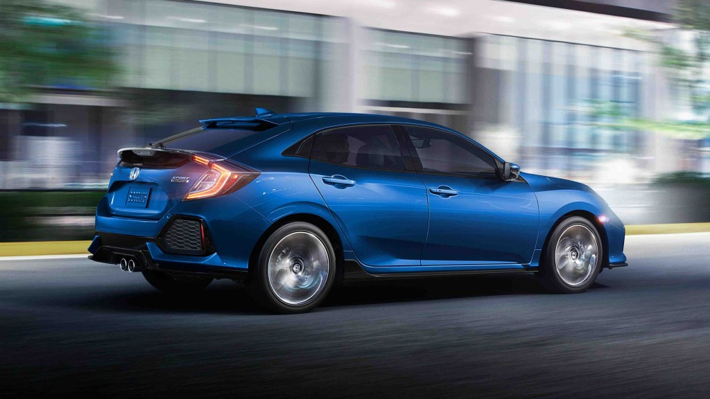 2017 Civic Hatchback exterior