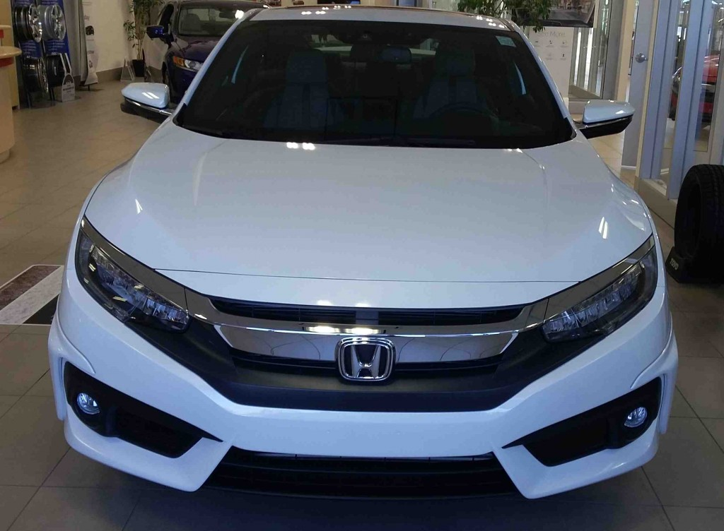 2016 Civic White