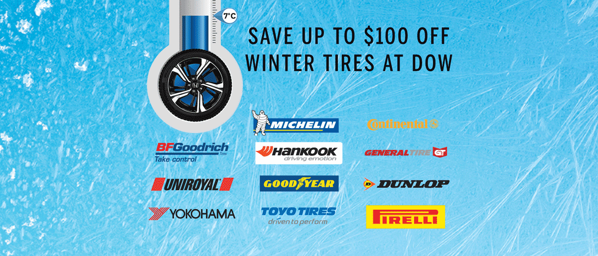 SAVE ON WINTER TIRES NOW!