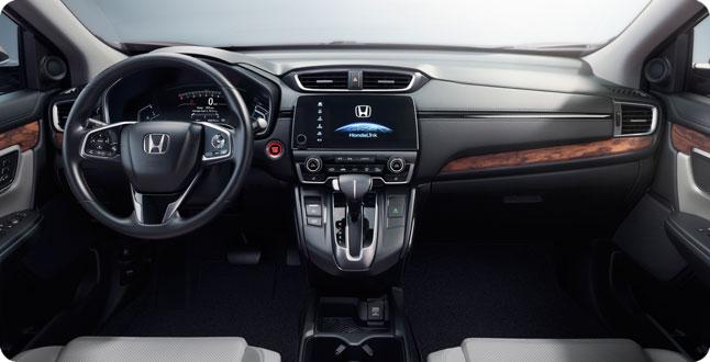 2017 CR-V Dashboard