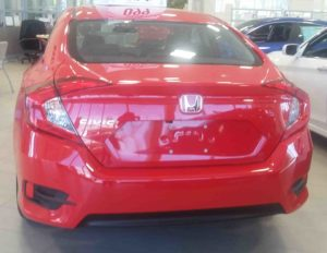 2017 Civic EX Honda Sensing