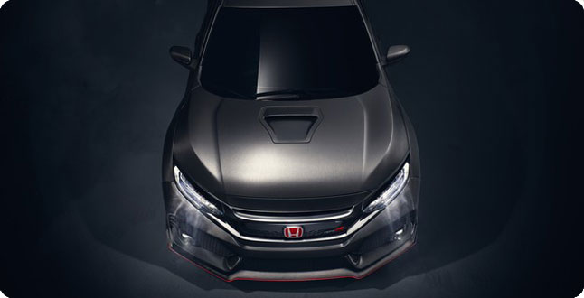 2017 Civic Type R top