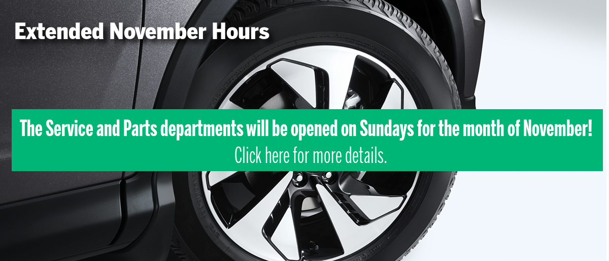 Service and Parts Extended Hours