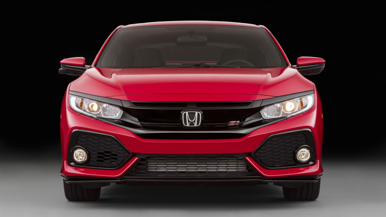 2017 Civic Si front details