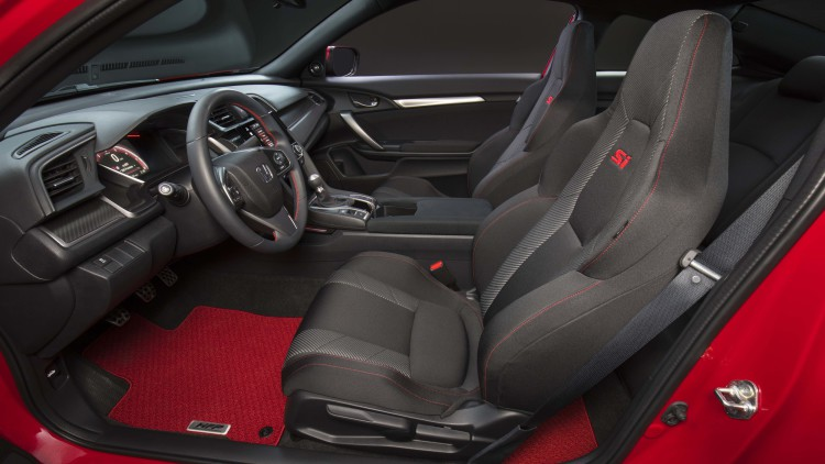 2017 Civic Si seats