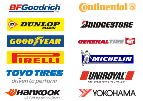 All Tire Rebate Logos