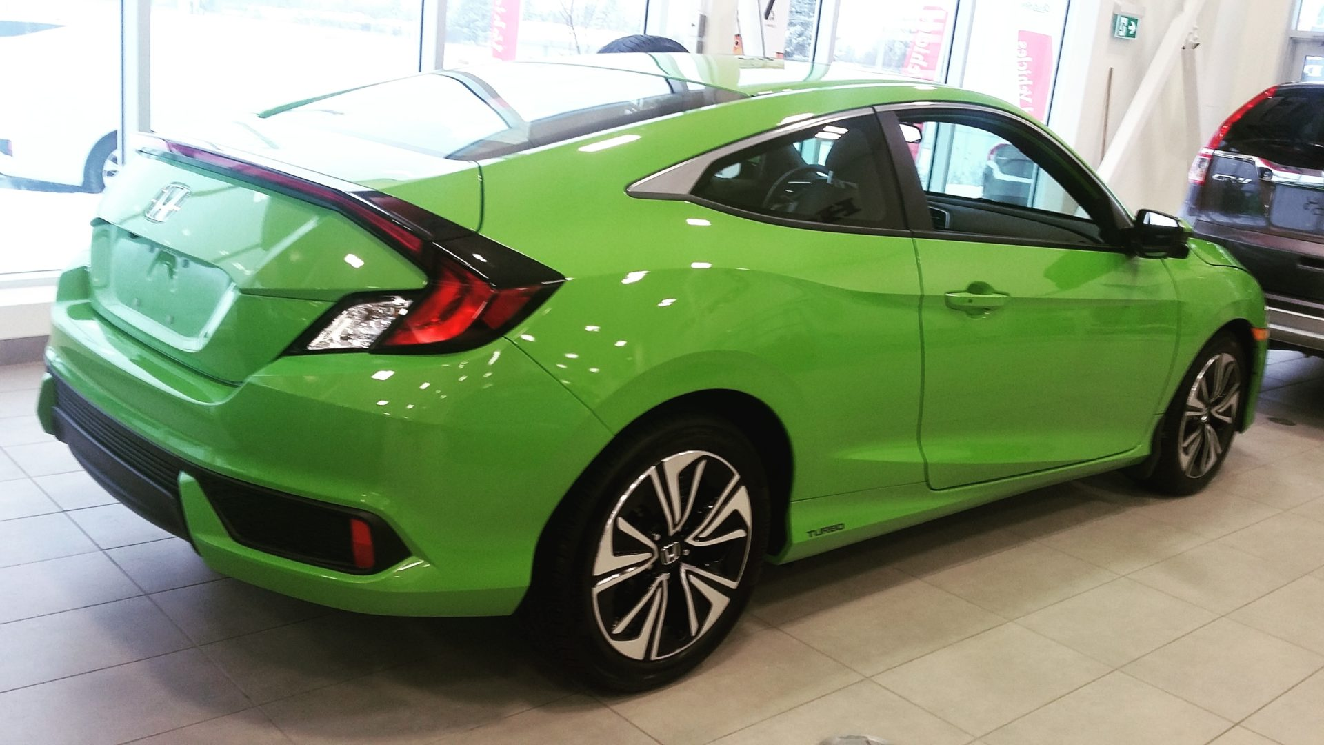 showroom showoff 2016 civic ex t coupe dow honda. Black Bedroom Furniture Sets. Home Design Ideas