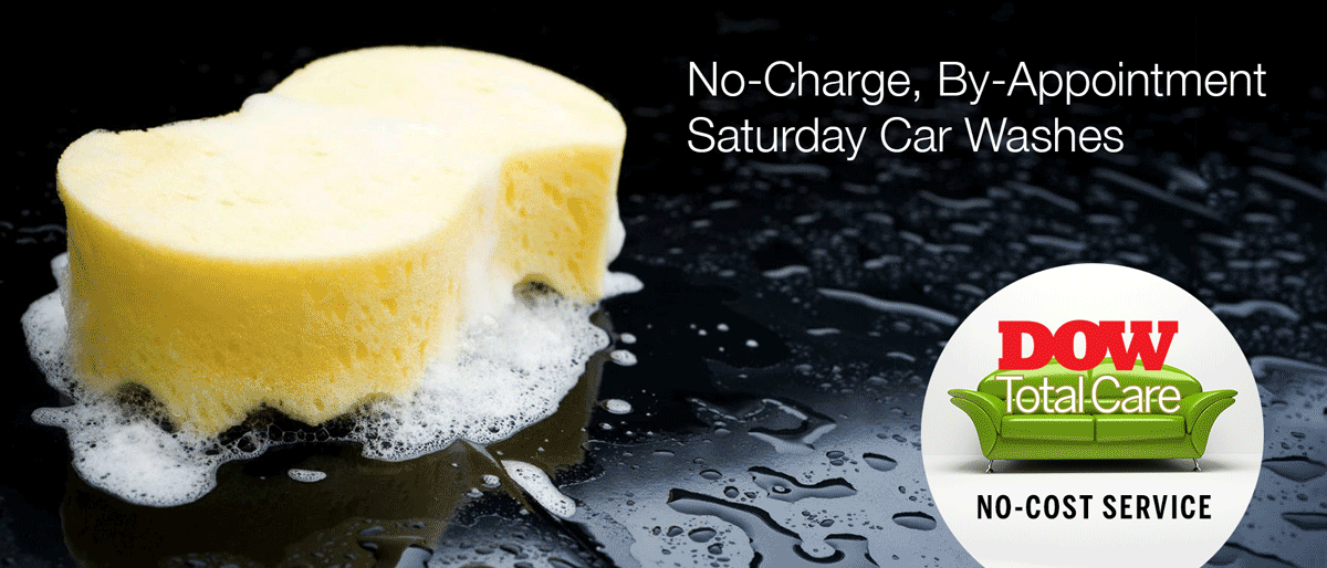 No Charge Saturday Car Wash Service