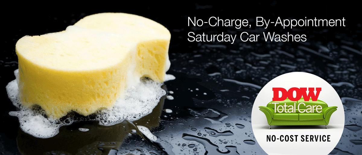 No Charge Saturday Car Wash Service