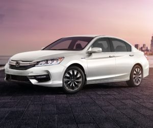 2017 Accord Hybrid white