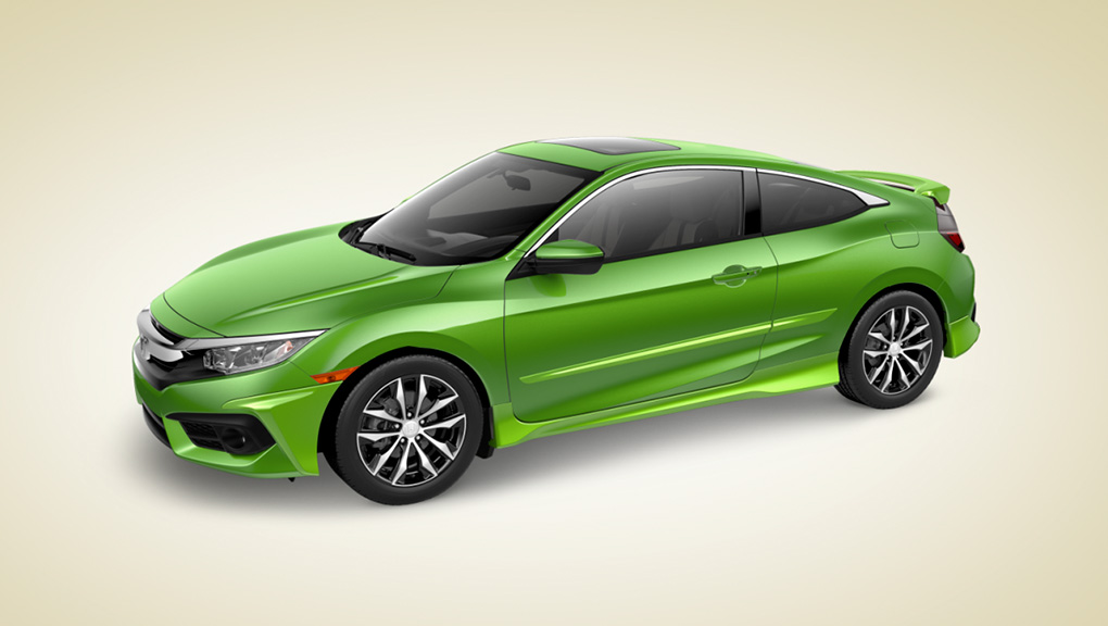 2017 Civic Coupe Head Turner Package
