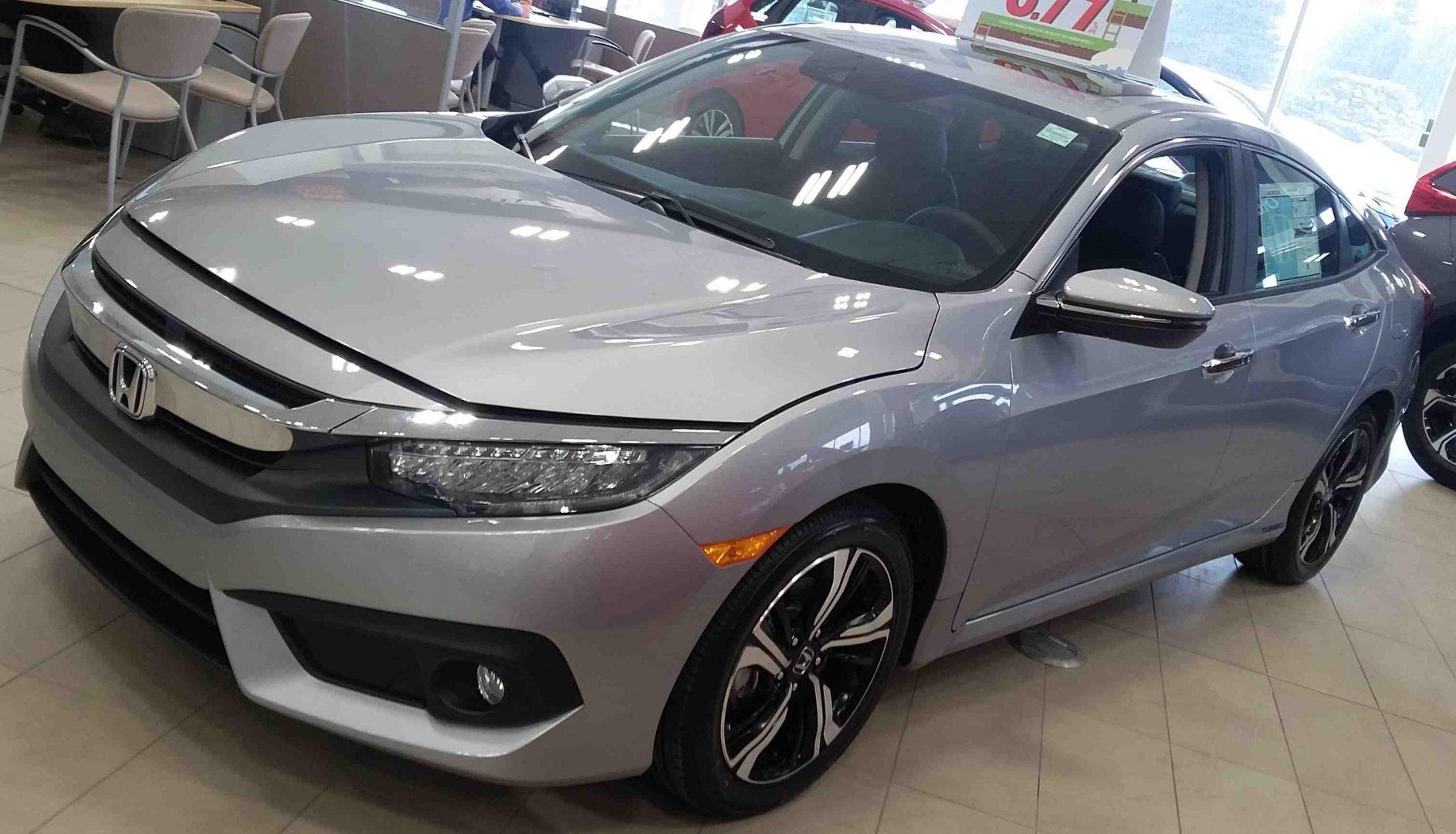 2017 Civic Touring Sedan