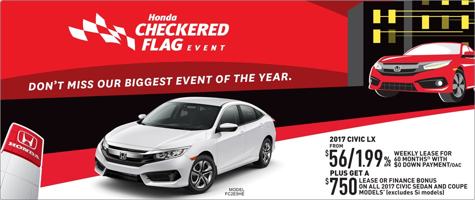 Checkered Flag Event 2017