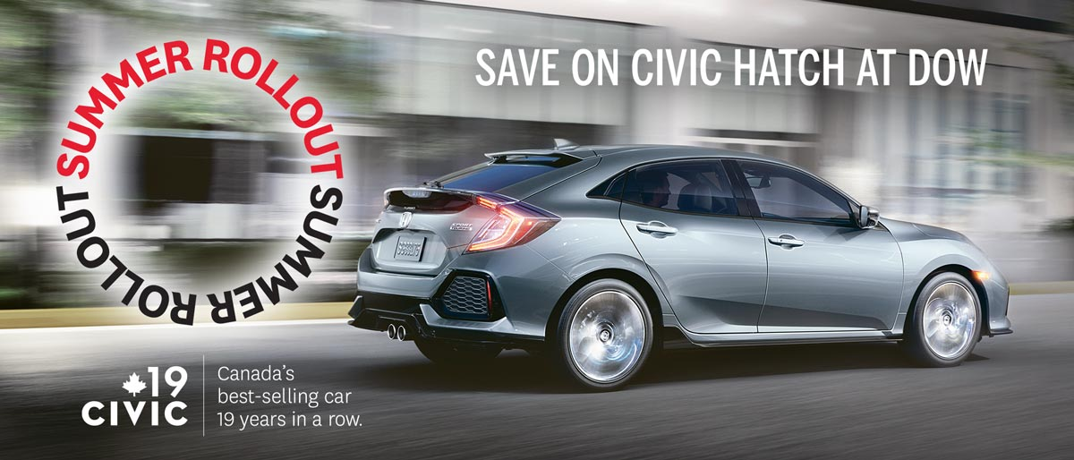SAVE ON ALL 2017 HONDA CIVIC HATCHBACKS