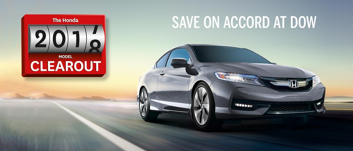 SAVE ON ALL 2017 HONDA ACCORDS
