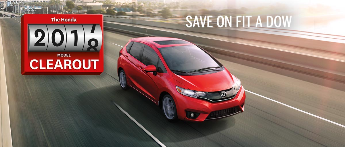 SAVE ON ALL 2017 HONDA FITs