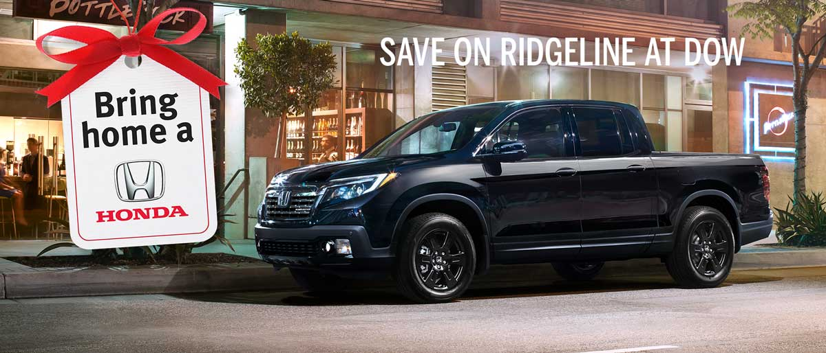 SAVE ON ALL 2018 RIDGELINES