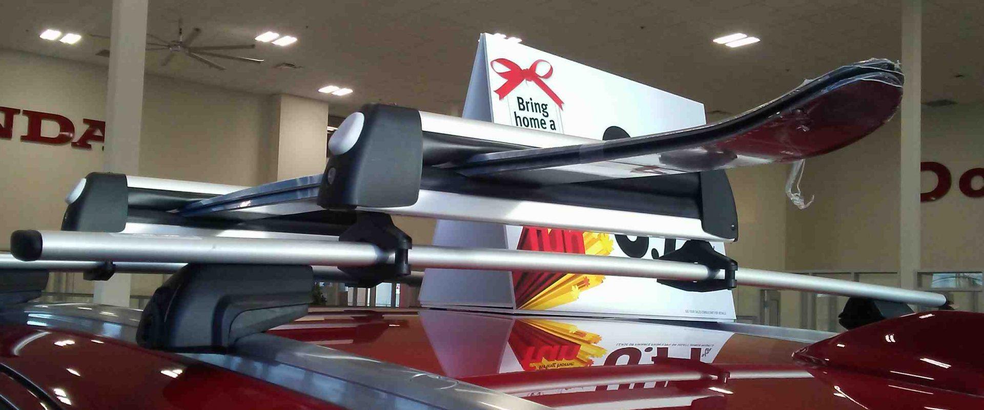 Honda ski rack accessory