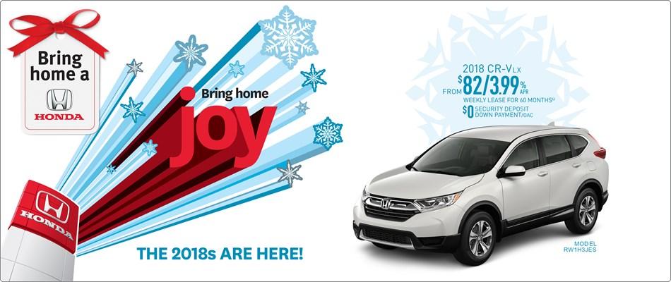 Bring Home a Honda CR-V
