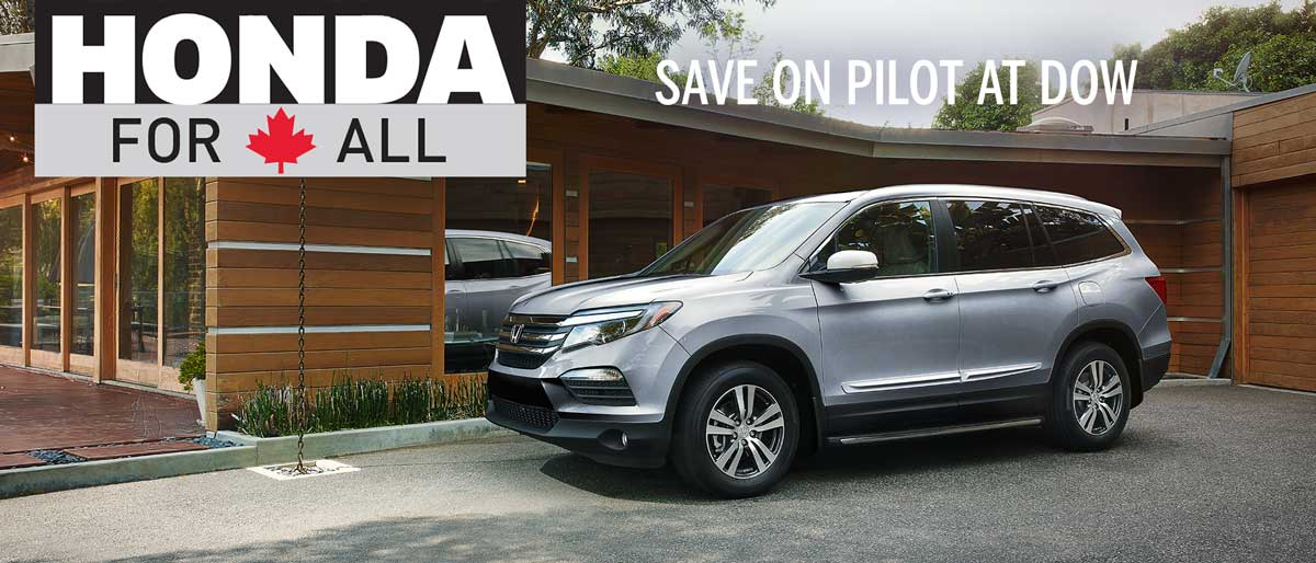 SAVE ON ALL 2018 HONDA PILOTS