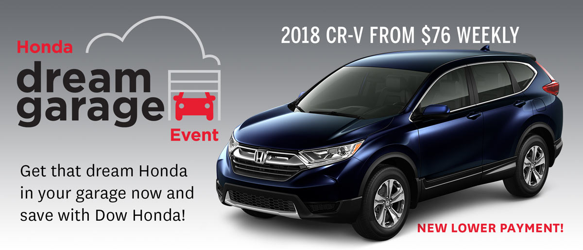Save on CR-V at Dow!
