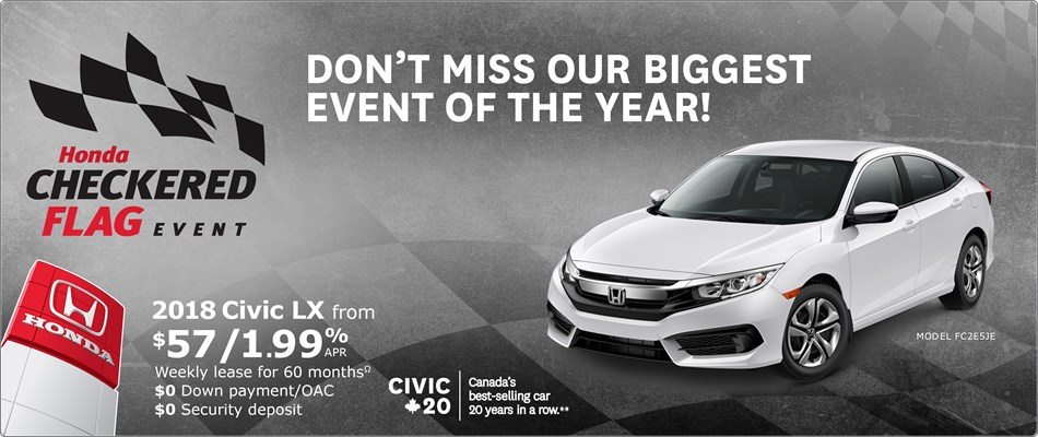 Checkered Flag Event Civic