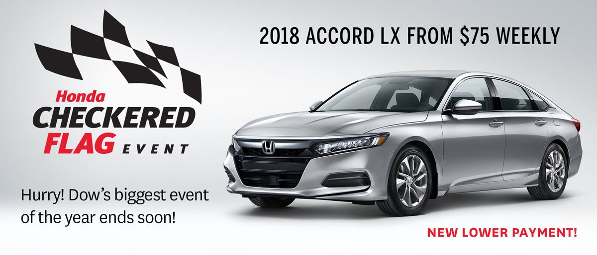 Save on Accord at Dow