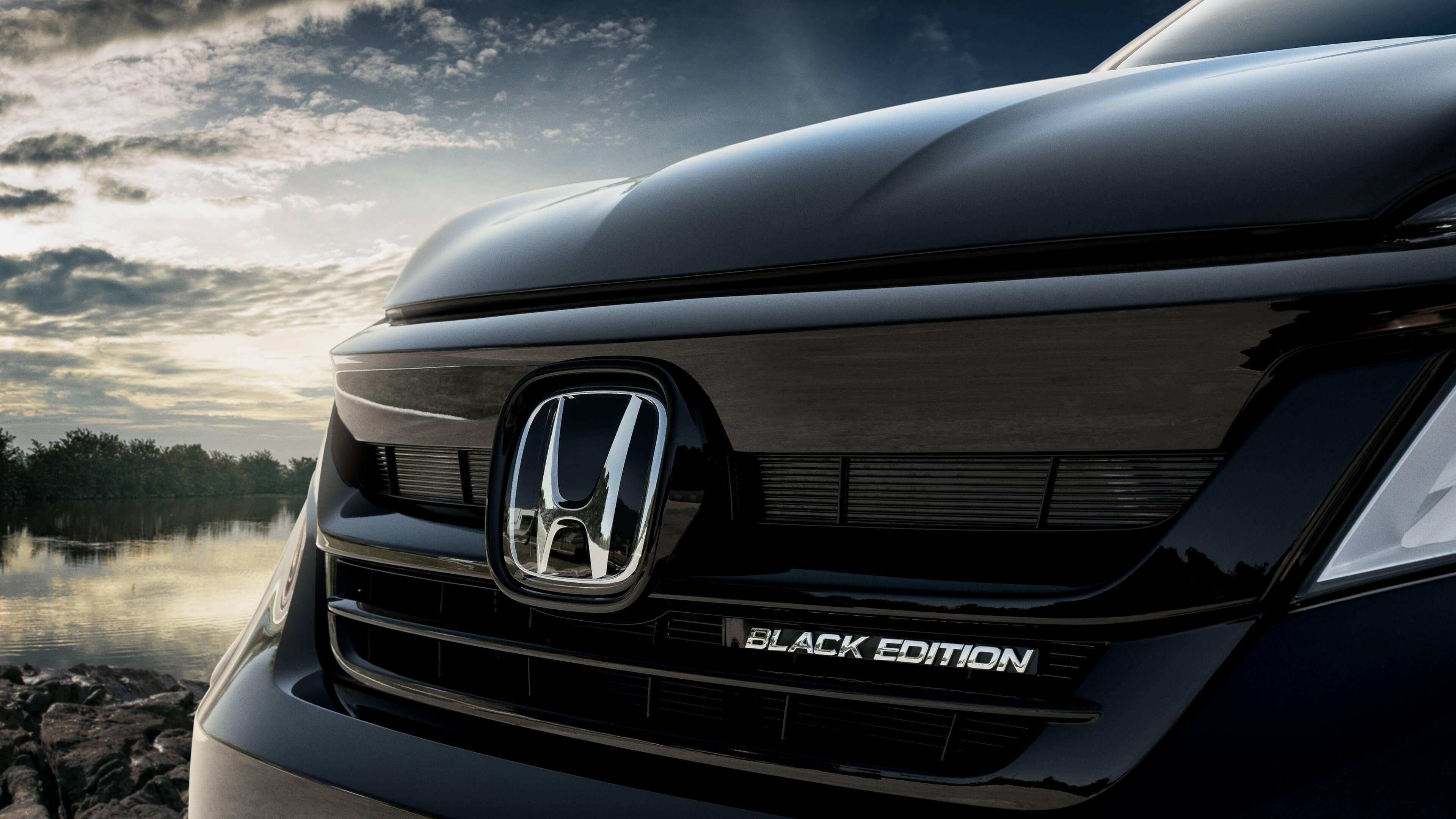 The 2019 Pilot Black Edition Dow Honda