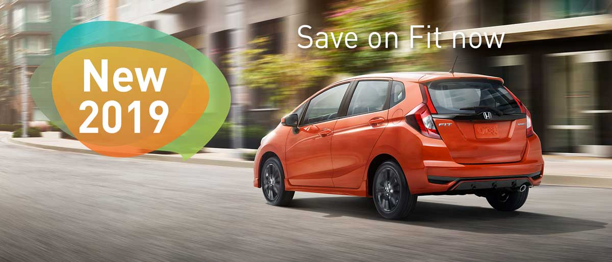 SAVE ON ALL 2019 HONDA FITS