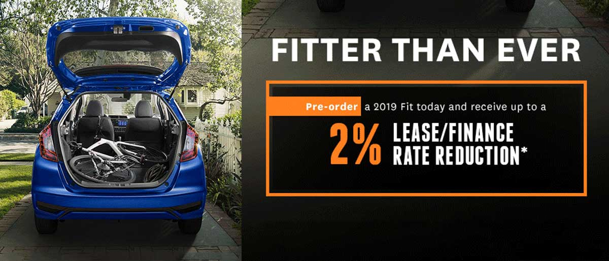 Pre-order a 2019 Fit and Save