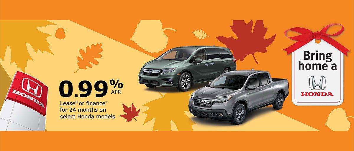 Get great rates at Dow Honda