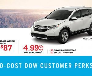 Save on CR-V at Dow