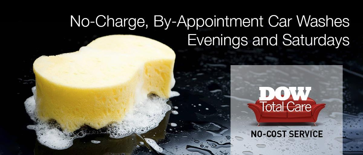 No Charge By Appointment Customer Car Washes