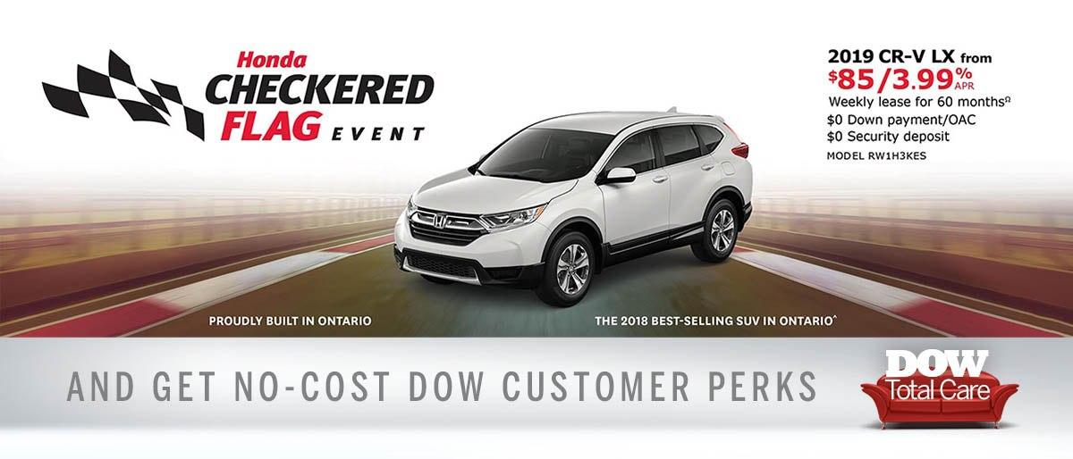 Save on CR-V at Dow Honda
