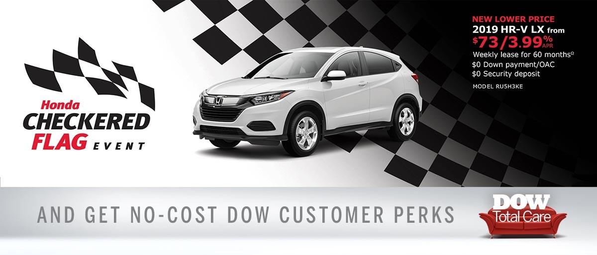 Save on HR-V at Dow Honda