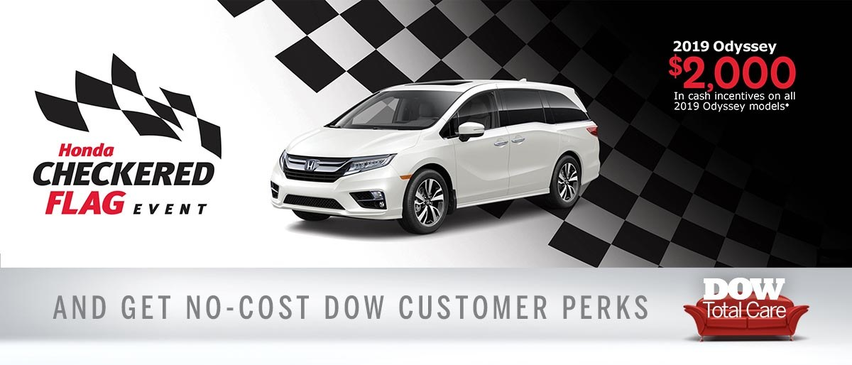 Save on Odyssey at Dow Honda