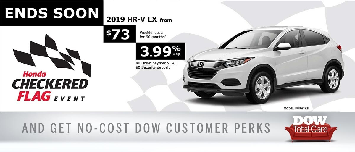 Save on HR-V at Dow