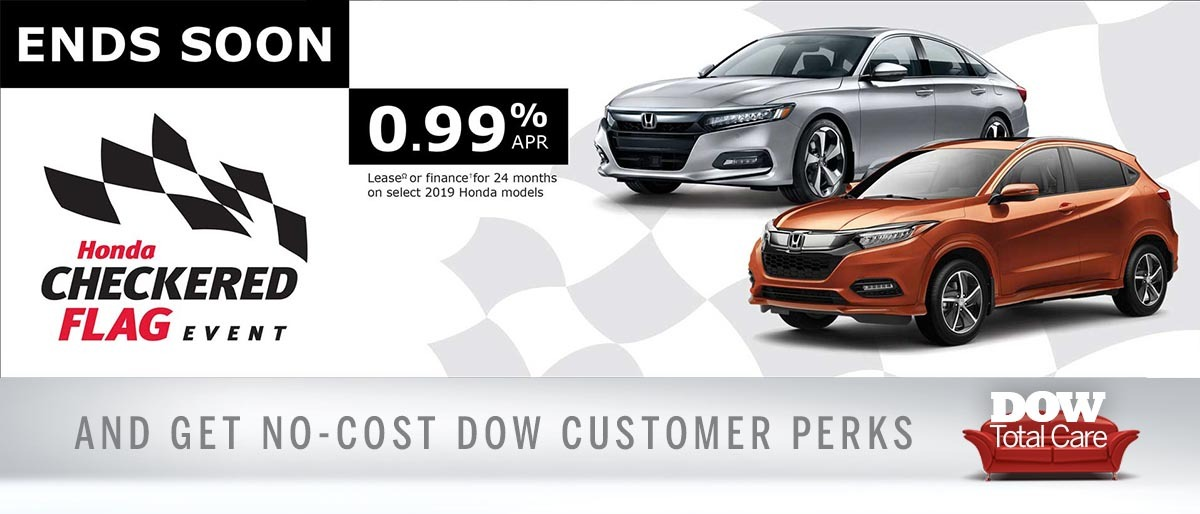 Great rates at Dow Honda