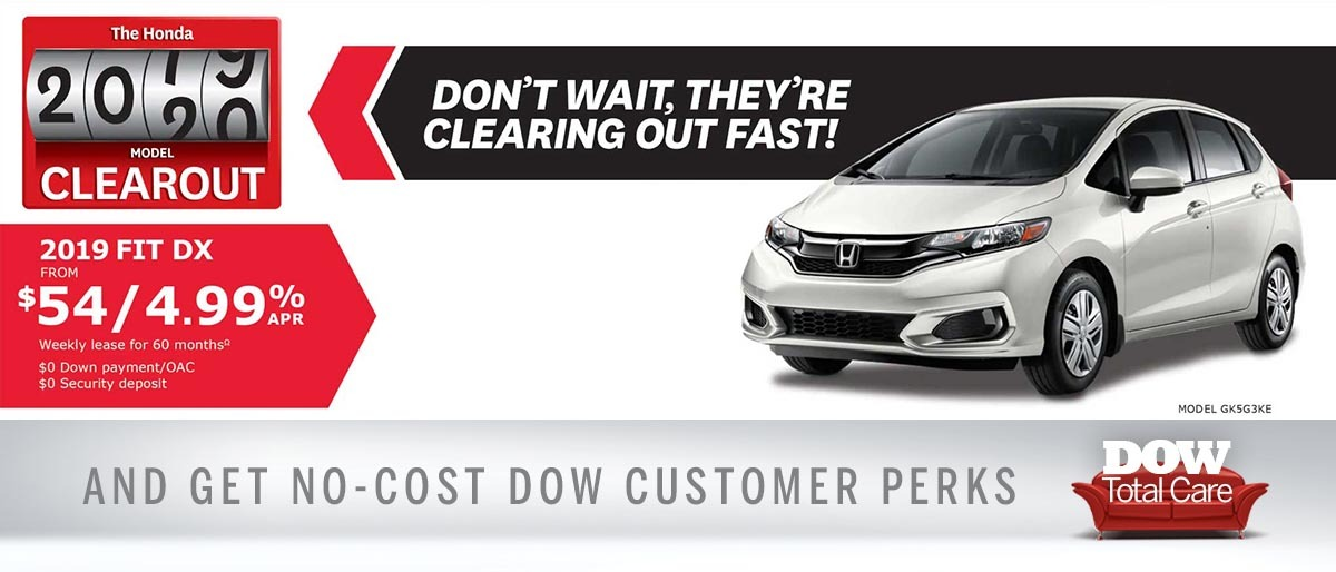 Save on Fit at Dow Honda
