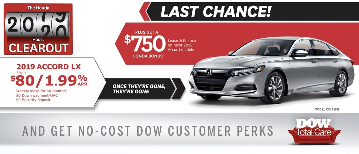 Save on Accord at Dow Honda